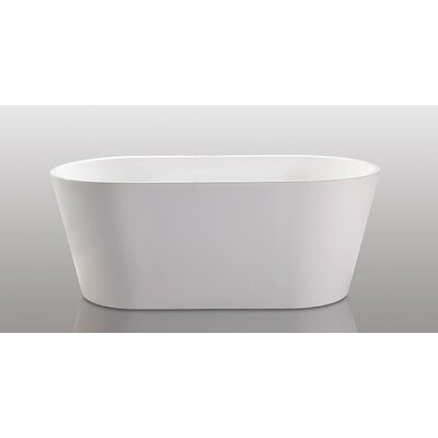 HelixBath Agora 59 x 29.5 Soaking Bathtub