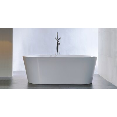 HelixBath Agora 59 x 29.5 Soaking Bathtub