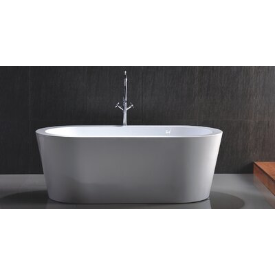 HelixBath Pella 59 x 29.5 Soaking Bathtub