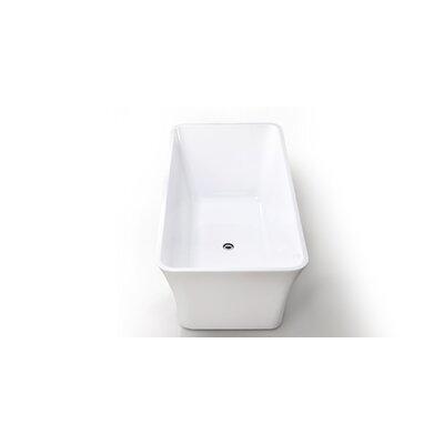 HelixBath Parva 59 x 29.5 Soaking Bathtub