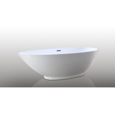 HelixBath Diospolis 75 x 33.5 Soaking Bathtub