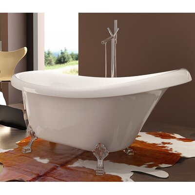 HelixBath Delos 67 x 31.5 Soaking Bathtub