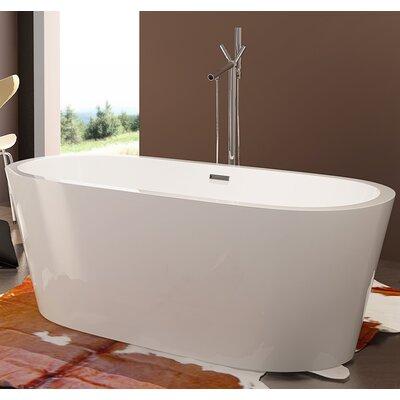 HelixBath Pella 63 x 29.5 Soaking Bathtub