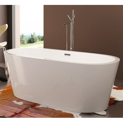 HelixBath Pella 68 x 32.25 Soaking Bathtub