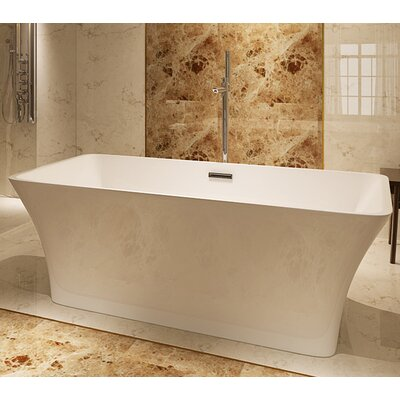 HelixBath Parva 59 x 29.5 Soaking Bathtub