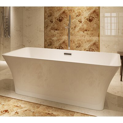 HelixBath Parva 67 x 31.5 Soaking Bathtub