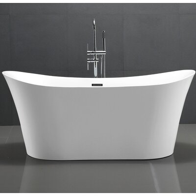 HelixBath Amathous 67 x 31 Soaking Bathtub