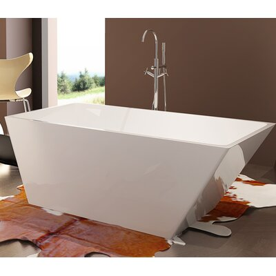 HelixBath Piraeus 67 x 30.7 Soaking Bathtub