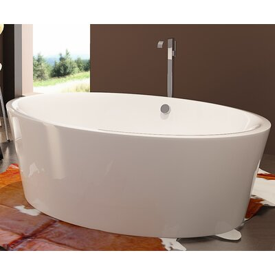 HelixBath Kition 67 x 43.25 Soaking Bathtub