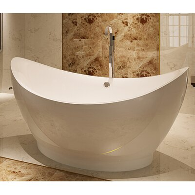 HelixBath Eleusis 67.75 x 31 Soaking Bathtub