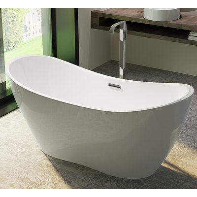 HelixBath Theadelphia 71 x 31.5 Soaking Bathtub