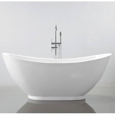 HelixBath Ephesus 69 x 33.5 Soaking Bathtub