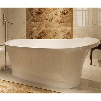 HelixBath Olympia 67 x 31.5 Soaking Bathtub