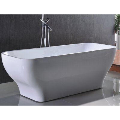 HelixBath Taposiris 67 x 27.5 Soaking Bathtub
