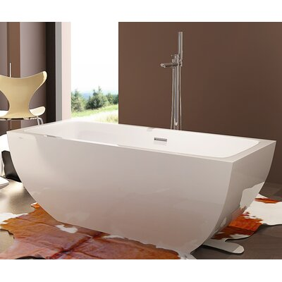 HelixBath Velia 59 x 29.5 Soaking Bathtub