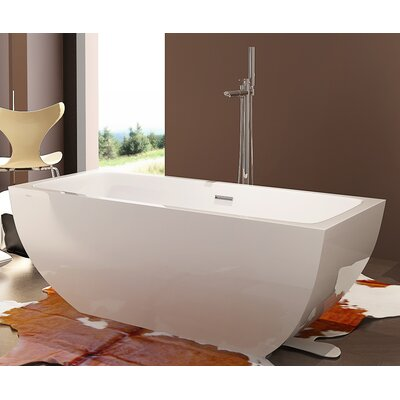 HelixBath Velia 67 x 31.5 Soaking Bathtub