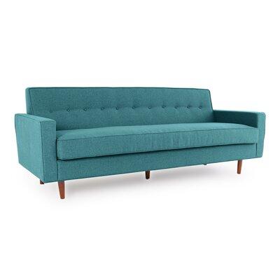 Eleanor Mid Century Modern Sofa Upholstery: Blue