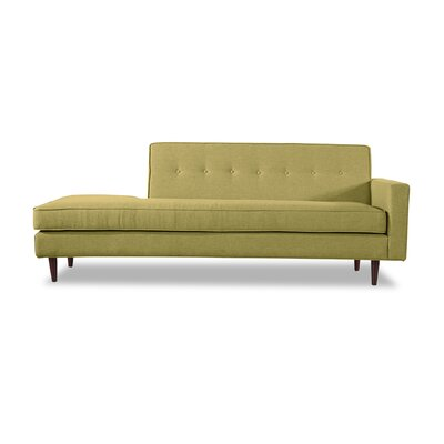 Eleanor Mid-Century Sofa Right Upholstery: Olivine