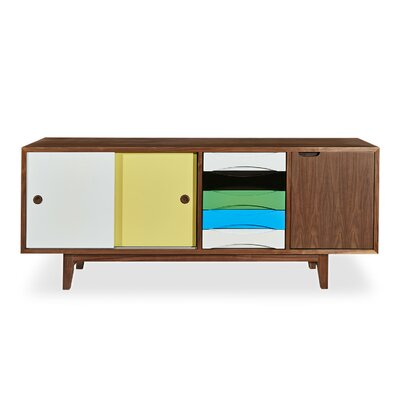 Centurist Series Credenza Color: Walnut
