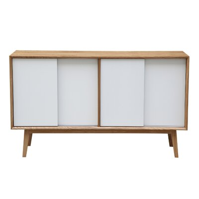 Porter Series Credenza Color: Natural Ash