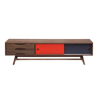 71 TV Stand Color: Walnut