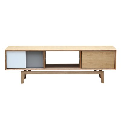 63 TV Stand Color: Natural Ash