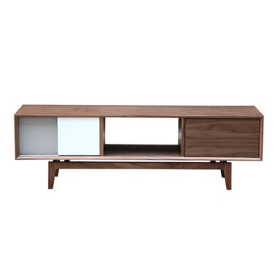 63 TV Stand Color: Walnut