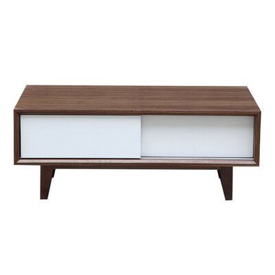 39.4 TV Stand Color: Walnut