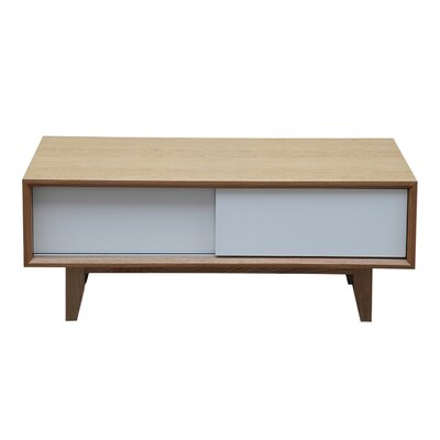 39.4 TV Stand Color: Natural Ash