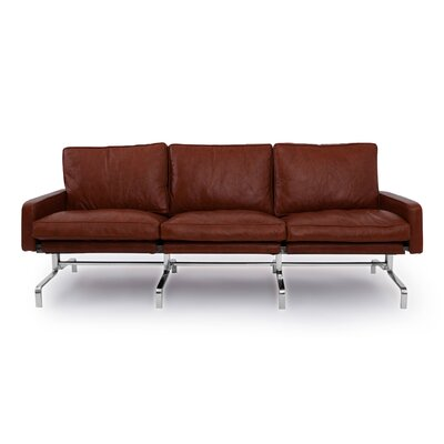 Modern Leather Sofa Upholstery: Bordeaux