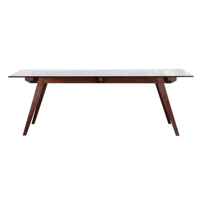 Sticcotti Dining Table Base Finish: Walnut Stain