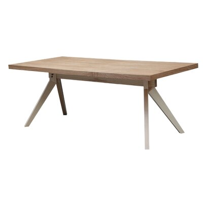 Audrey Dining Table Finish: Natural Ash