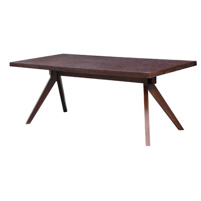 Audrey Dining Table Finish: Walnut Stain
