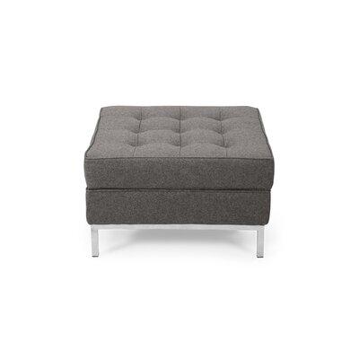 Modern Ottoman Upholstery: Cadet Gray
