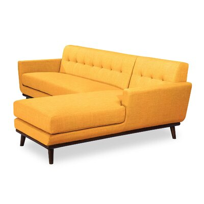 Luther Sectional Upholstery: Citrus Pop