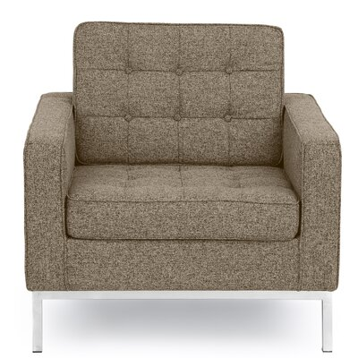 Modern Armchair Color: Oatmeal