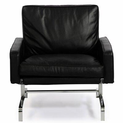 Modern Armchair Upholstery: Black