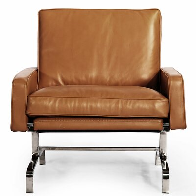 Modern Armchair Color: Canyon