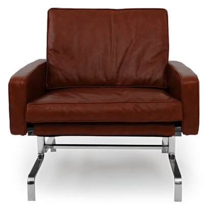Modern Arm Chair Color: Bordeaux