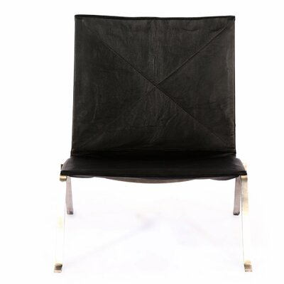 Modern Easy Lounge Chair Finish: Black