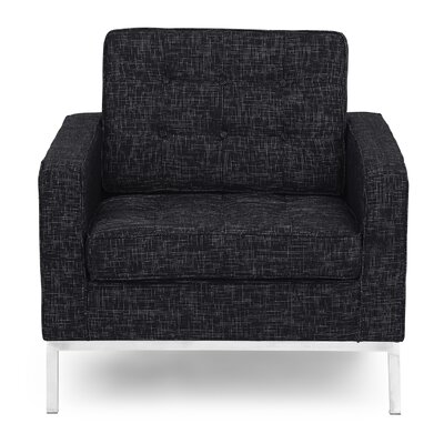 Modern Armchair Finish: Graphite