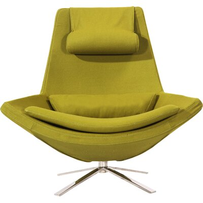 Retropolitan Swivel Lounge Chair Upholstery: Deco Moss