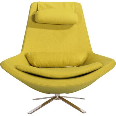 Retropolitan Swivel Lounge Chair Upholstery: Dijon