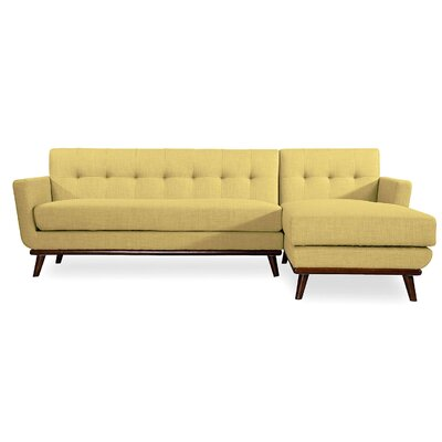 Luther Sectional Upholstery: Lemon Grass