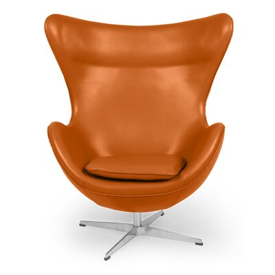 Amoeba Lounge Chair Color: Caramel