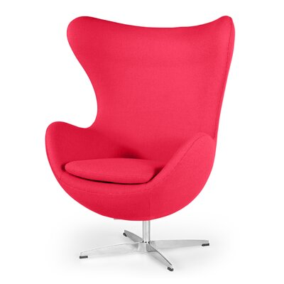 Deniela Wingback Chair Upholstery: Pink ORNE5373 42978154