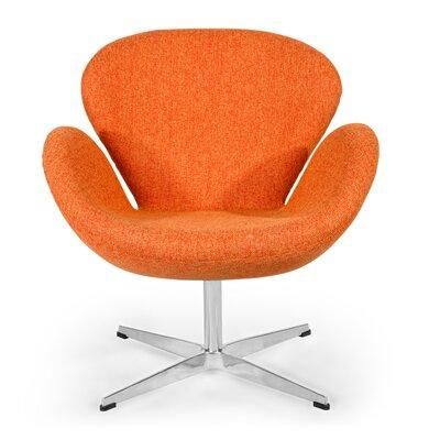 Trumpeter Lounge Chair Upholstery: Cinnabar