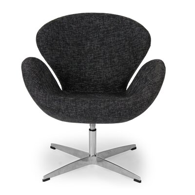 Trumpeter Lounge Chair Upholstery: Graphite