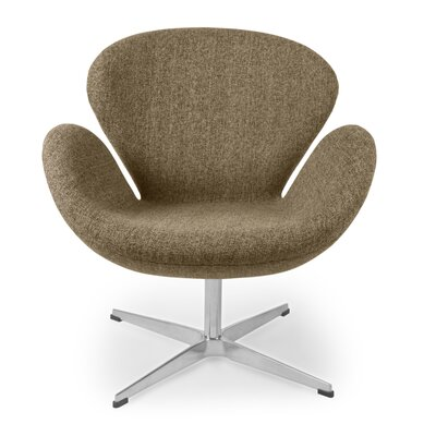 Trumpeter Lounge Chair Upholstery: Oatmeal