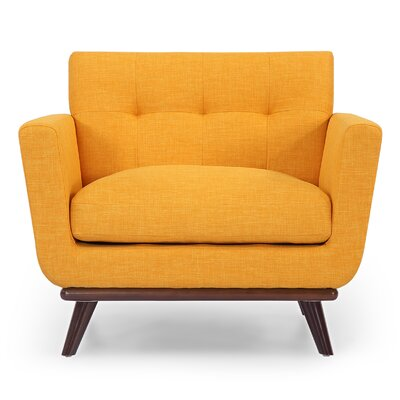 Jackie Arm Chair Upholstery: Citrus Pop